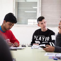 talleres vocacionales para jóvenes de entidades sociales